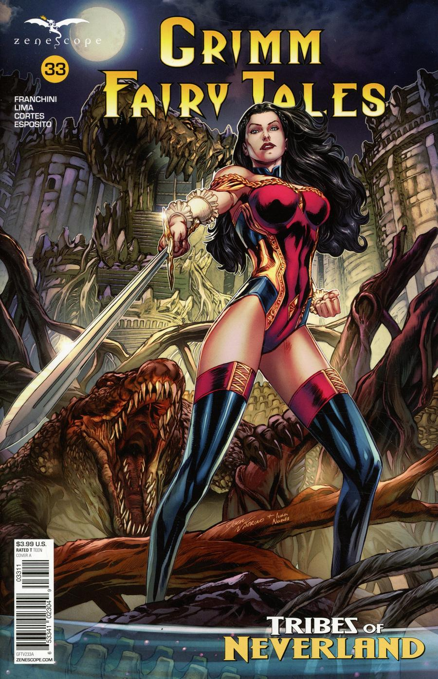 Grimm Fairy Tales Vol 2 #33 Cover A Igor Vitorino