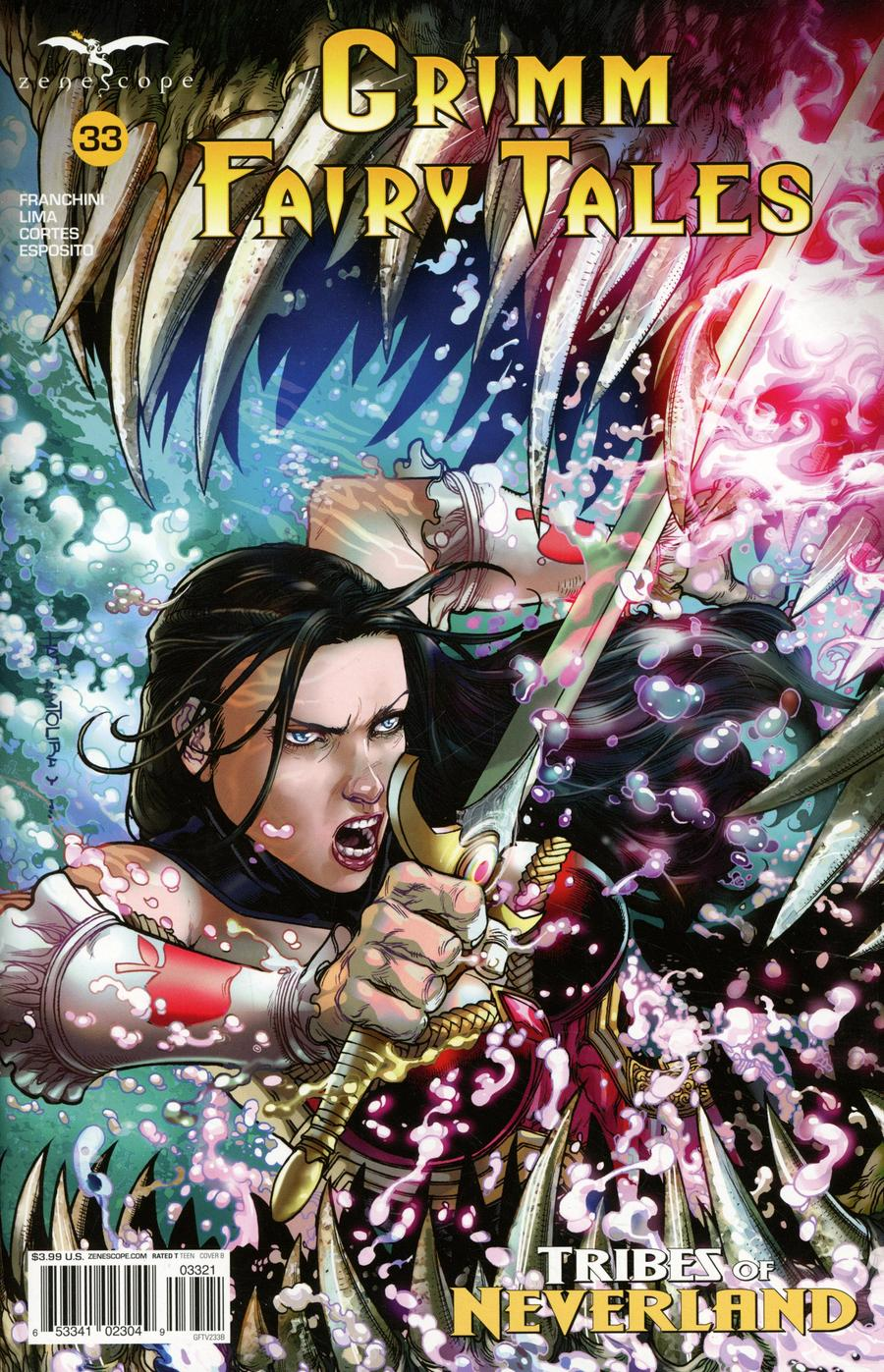 Grimm Fairy Tales Vol 2 #33 Cover B Harvey Tolibao