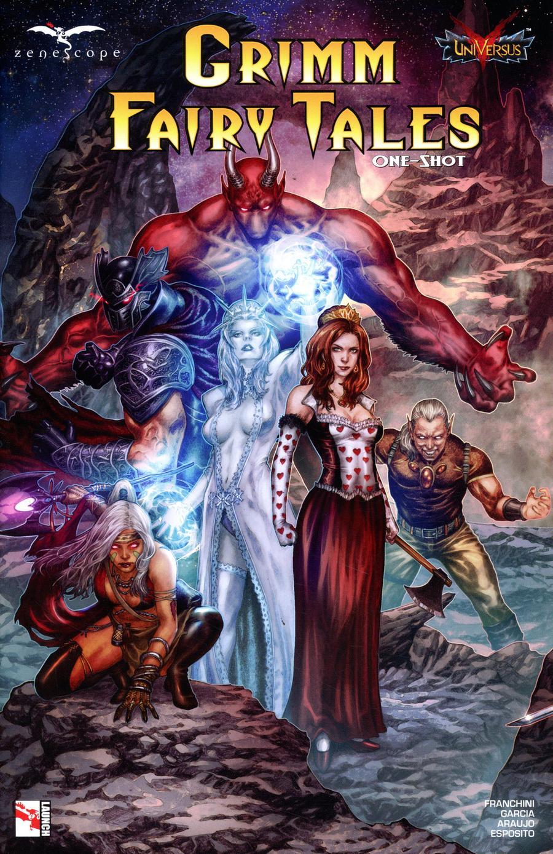 Grimm Fairy Tales Presents Jasco Games One Shot Cover B Geebo Vigonte