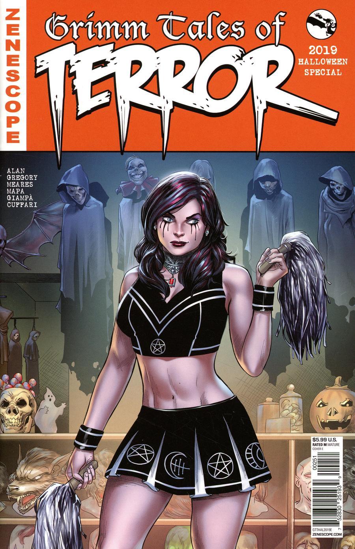 Grimm Fairy Tales Presents Grimm Tales Of Terror 2019 Halloween Edition #1 Cover E Martin Coccolo