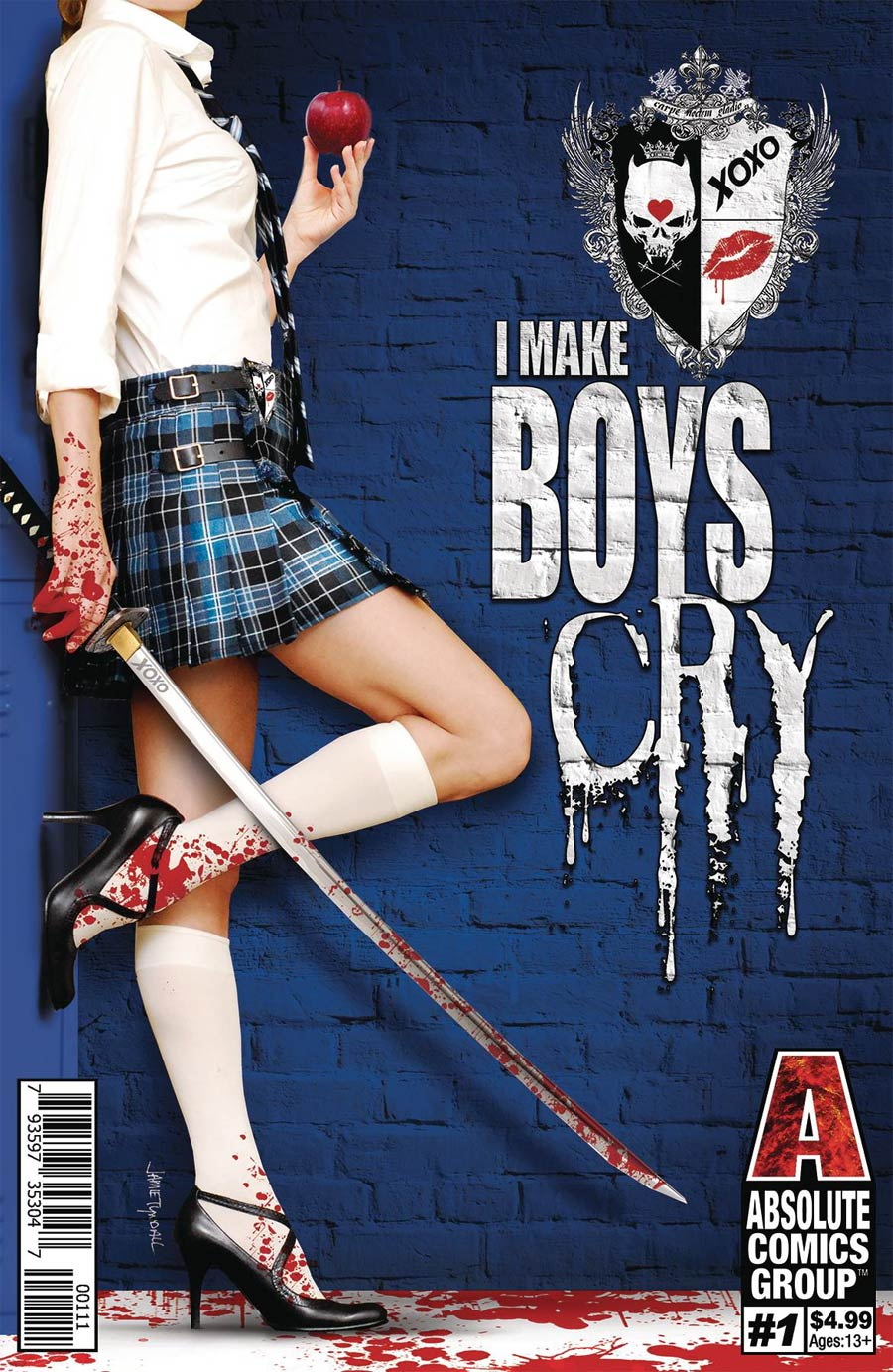 I Make Boys Cry #1 Cover A Regular Jamie Tyndall Cover