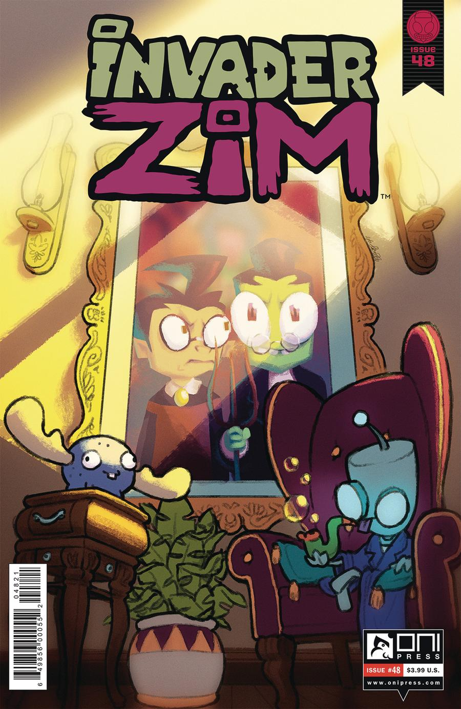 Invader Zim #48 Cover B Variant Marcy Bones Cover