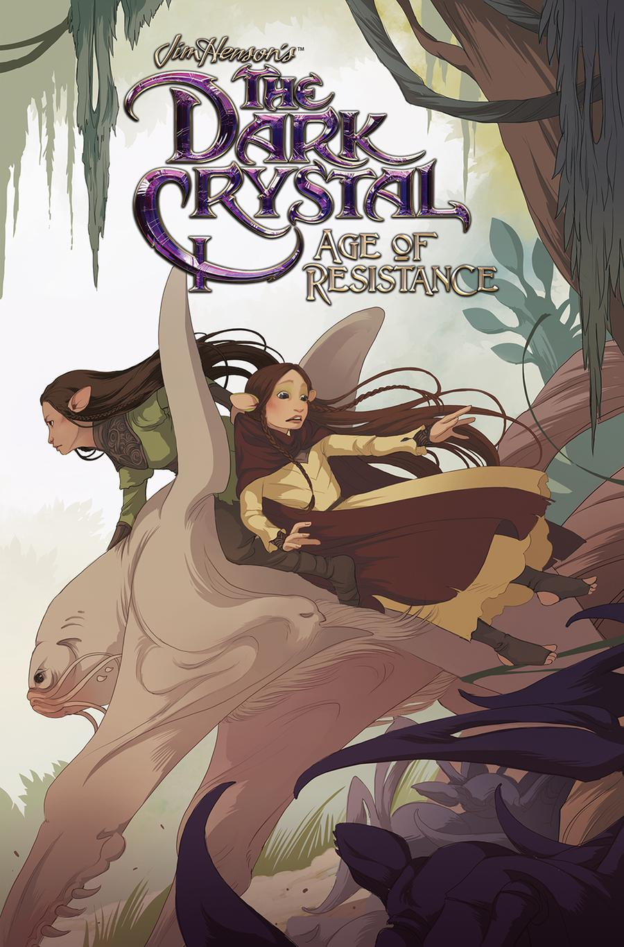 Jim Hensons Dark Crystal Age Of Resistance #2 Cover A Regular Mona Finden Cover