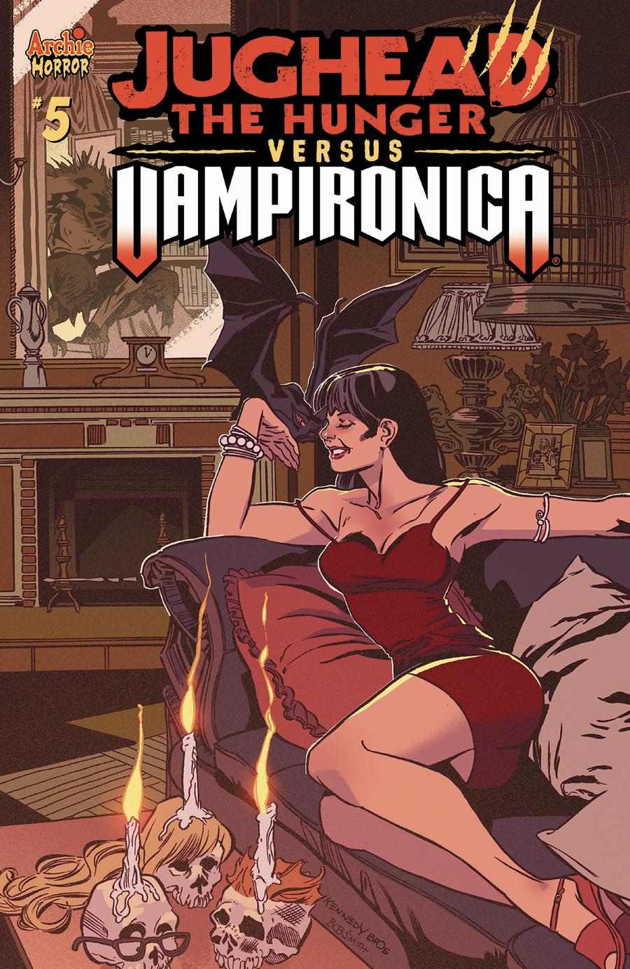 Jughead The Hunger Versus Vampironica #5 Cover A Regular Pat Kennedy & Tim Kennedy Cover