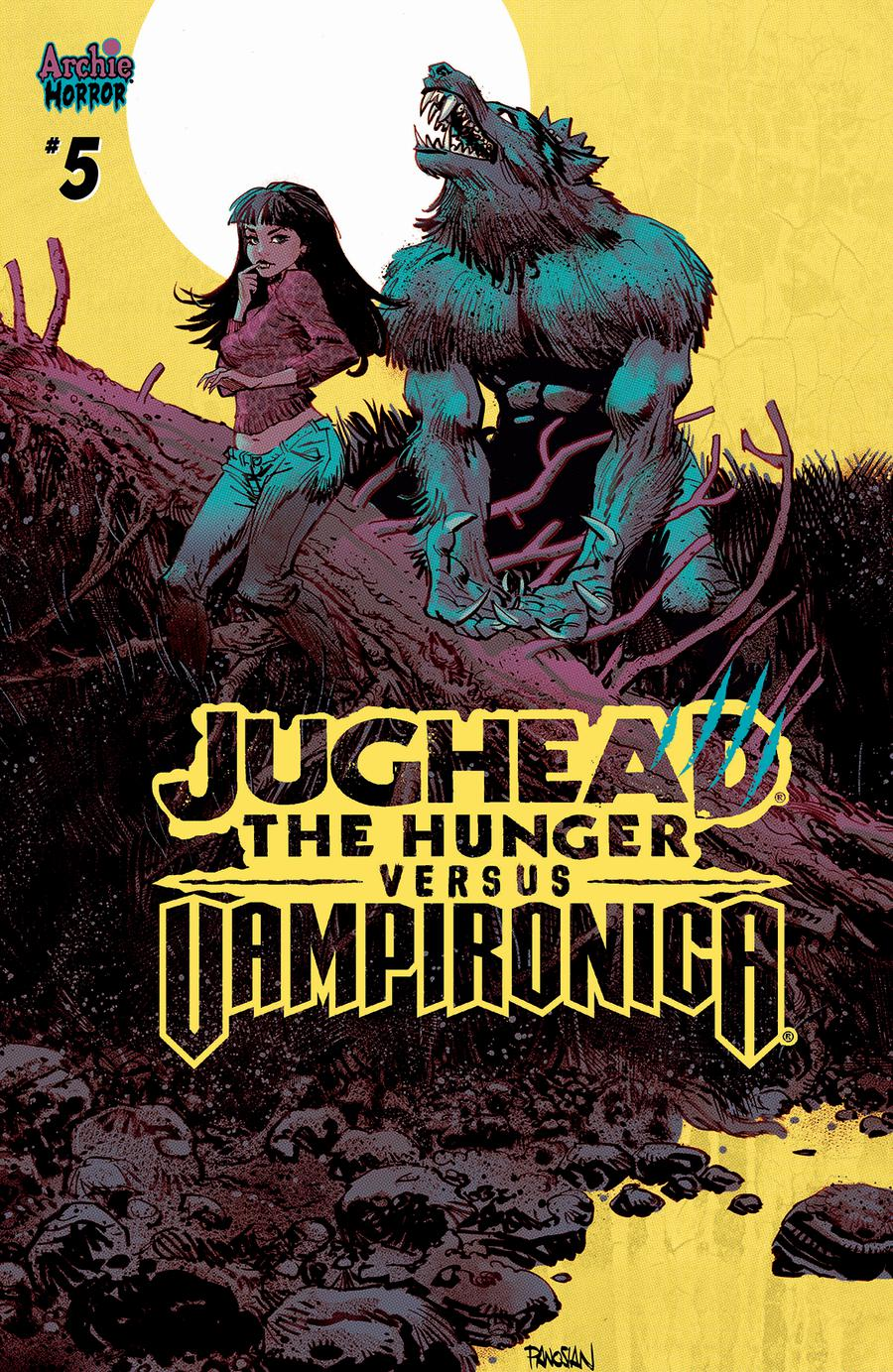Jughead The Hunger Versus Vampironica #5 Cover C Variant Dan Panosian Cover