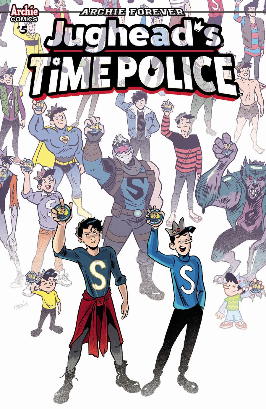 Jugheads Time Police Vol 2 #5 Cover A Regular Derek Charm Cover