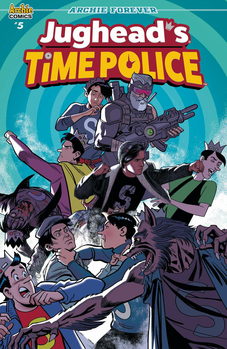 Jugheads Time Police Vol 2 #5 Cover C Variant Greg Smallwood Cover