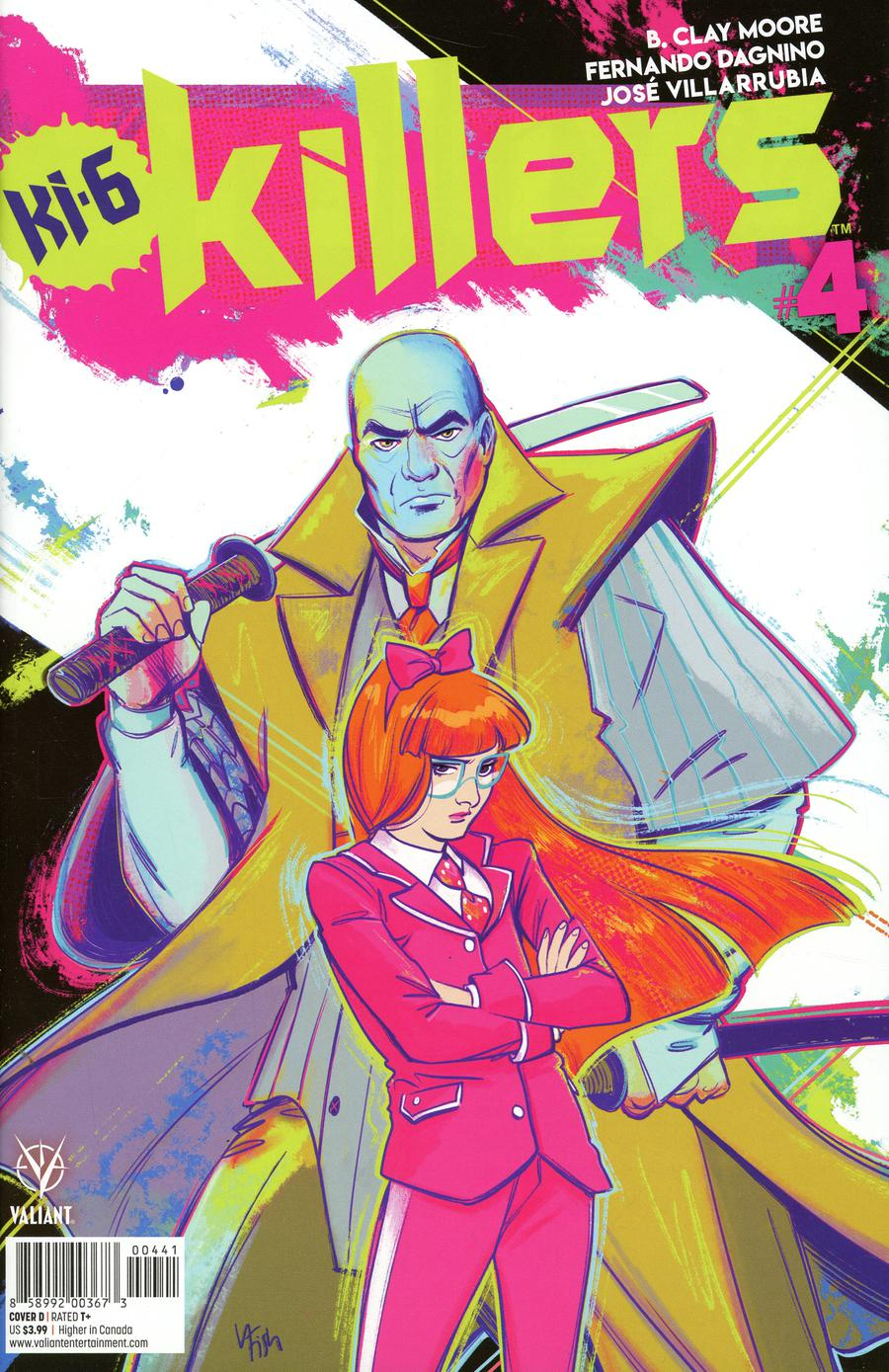 Killers #4 Cover D Variant Veronica Fish Cover