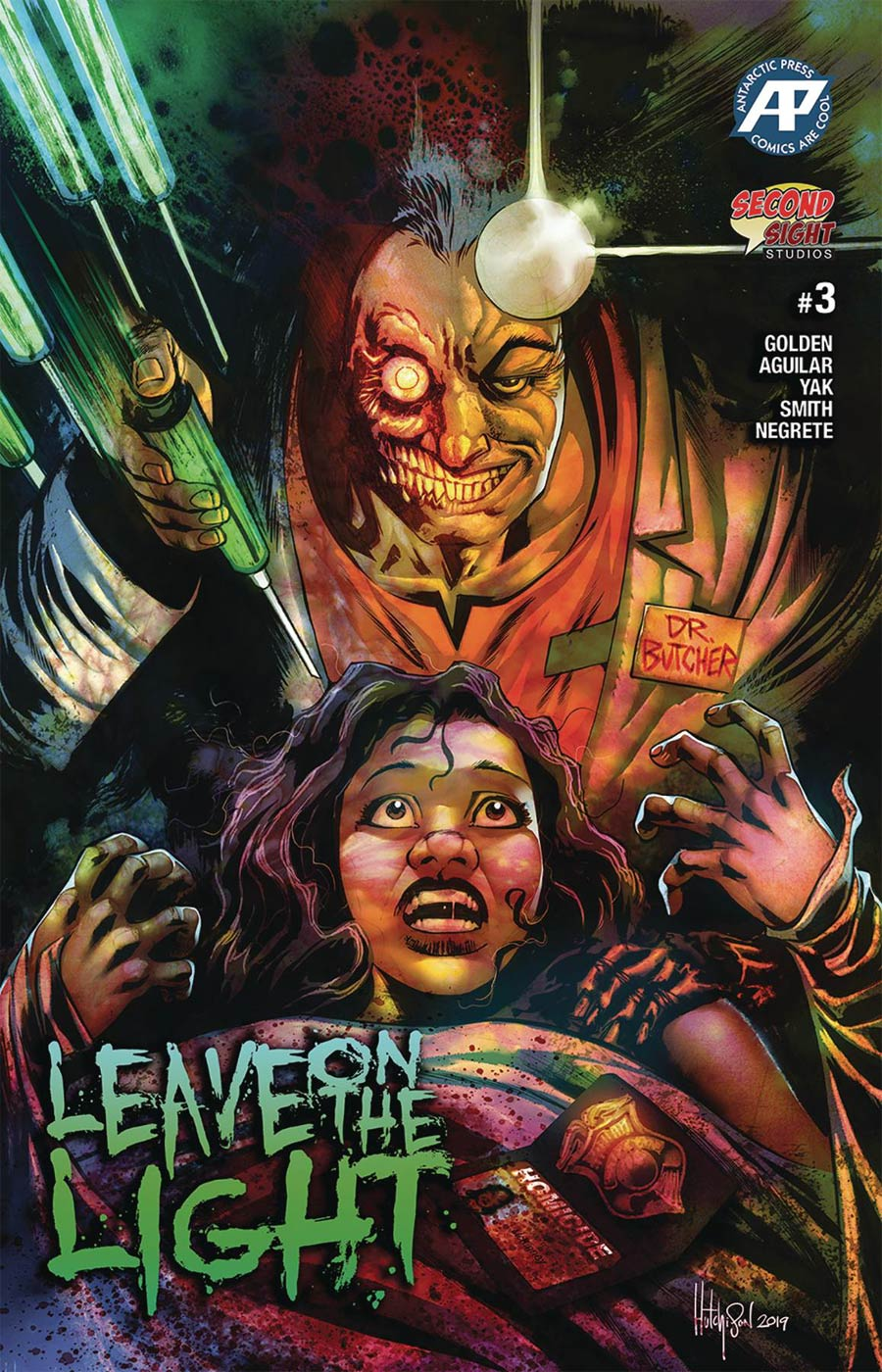 Leave On The Light #3 Cover A Regular Cover