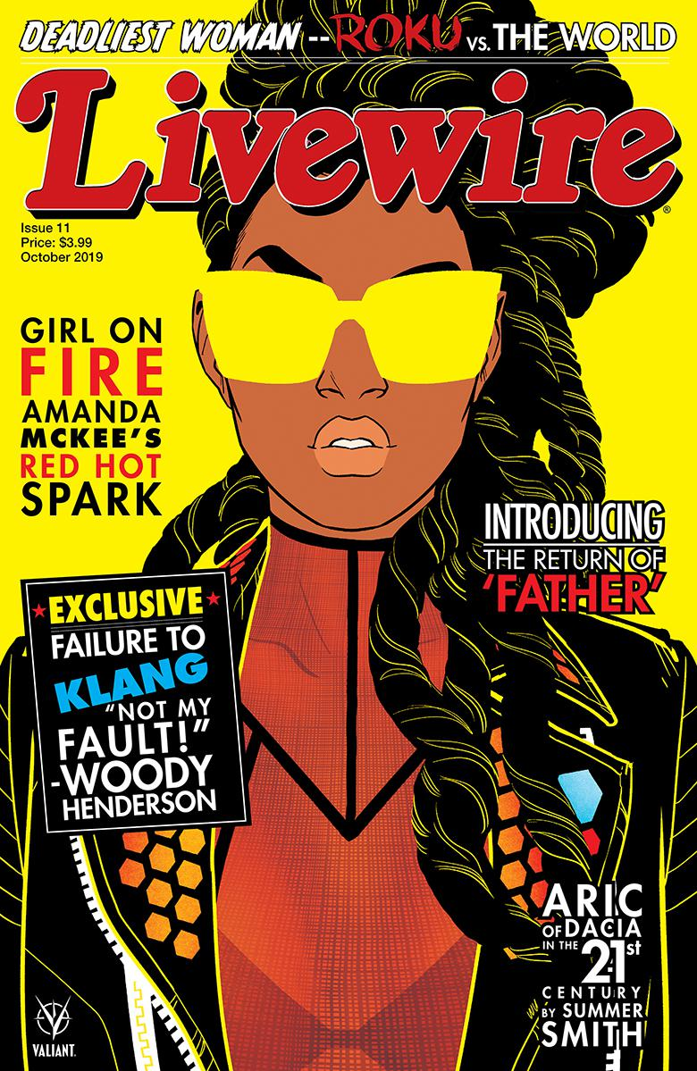 Livewire #11 Cover C Variant Annie Wu Cover
