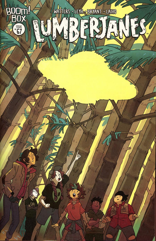 Lumberjanes #67 Cover A Regular Kat Leyh Cover