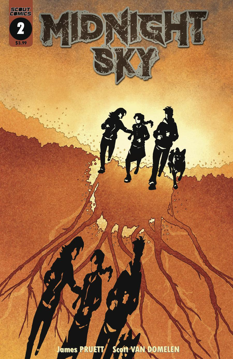 Midnight Sky #2 Cover B Variant Scott Van Domelen Invasion Of The Body Snatchers Homage Cover