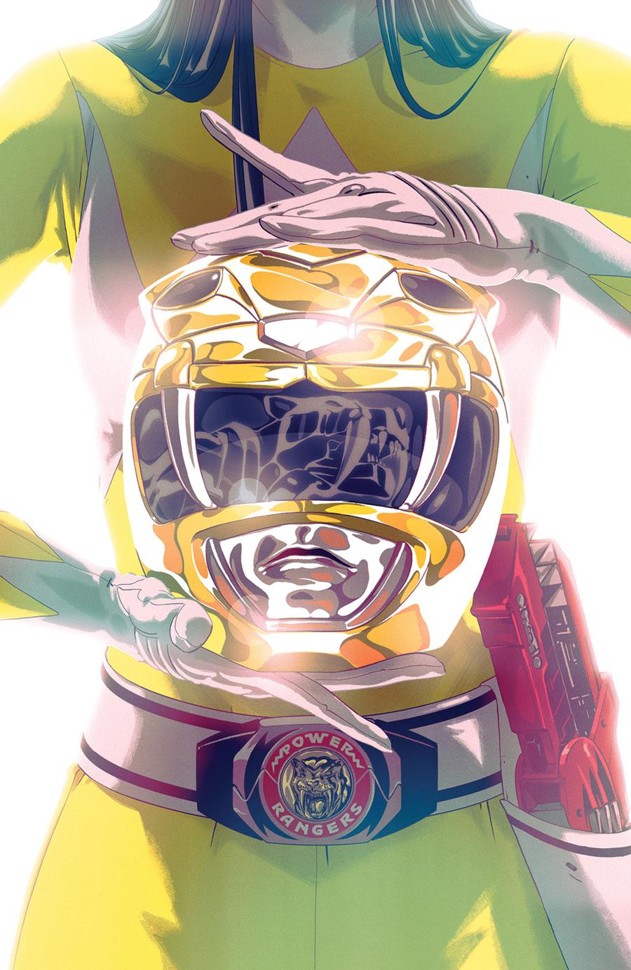 Mighty Morphin Power Rangers (BOOM Studios) #44 Cover B Variant Goni Montes Foil Cover