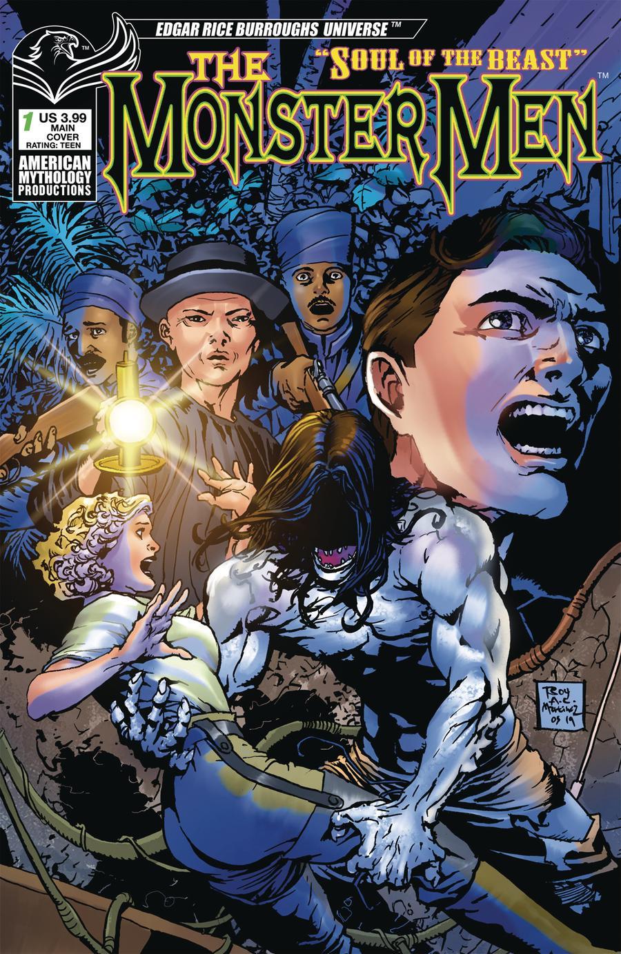 Monster Men Soul Of The Beast #1 Cover A Regular Roy Allan Martinez Cover