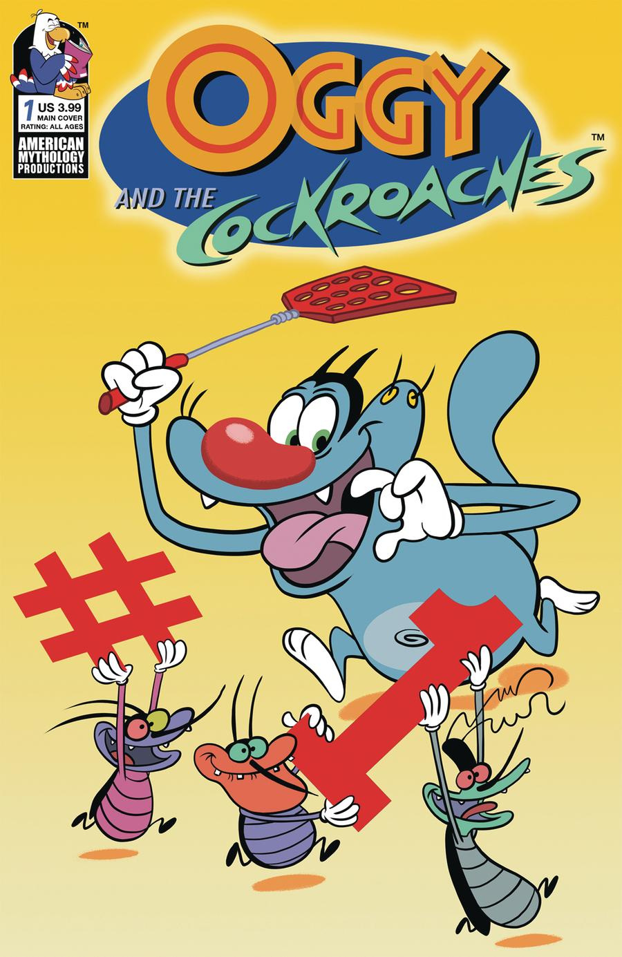 Oggy And The Cockroaches #1 Cover A Regular Dean Rankine Cover