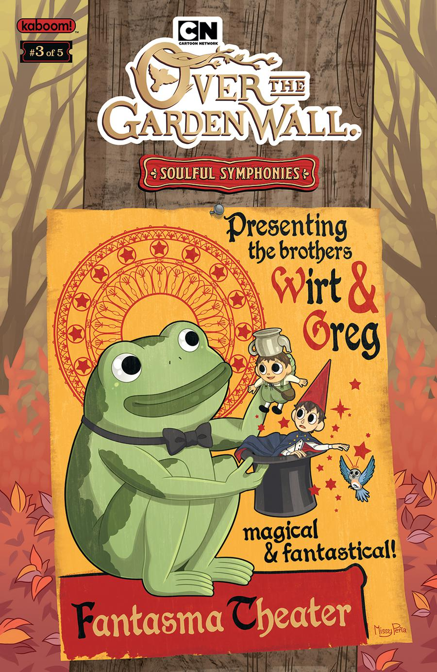 Over The Garden Wall Soulful Symphonies #3 Cover C Variant Missy Pena Preorder Cover