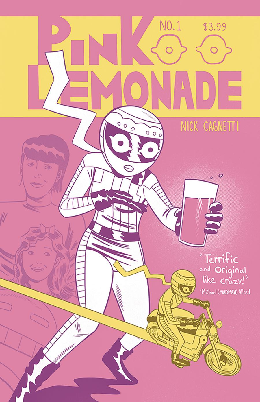 Pink Lemonade #1 Cover A Regular Nick Cagnetti Cover