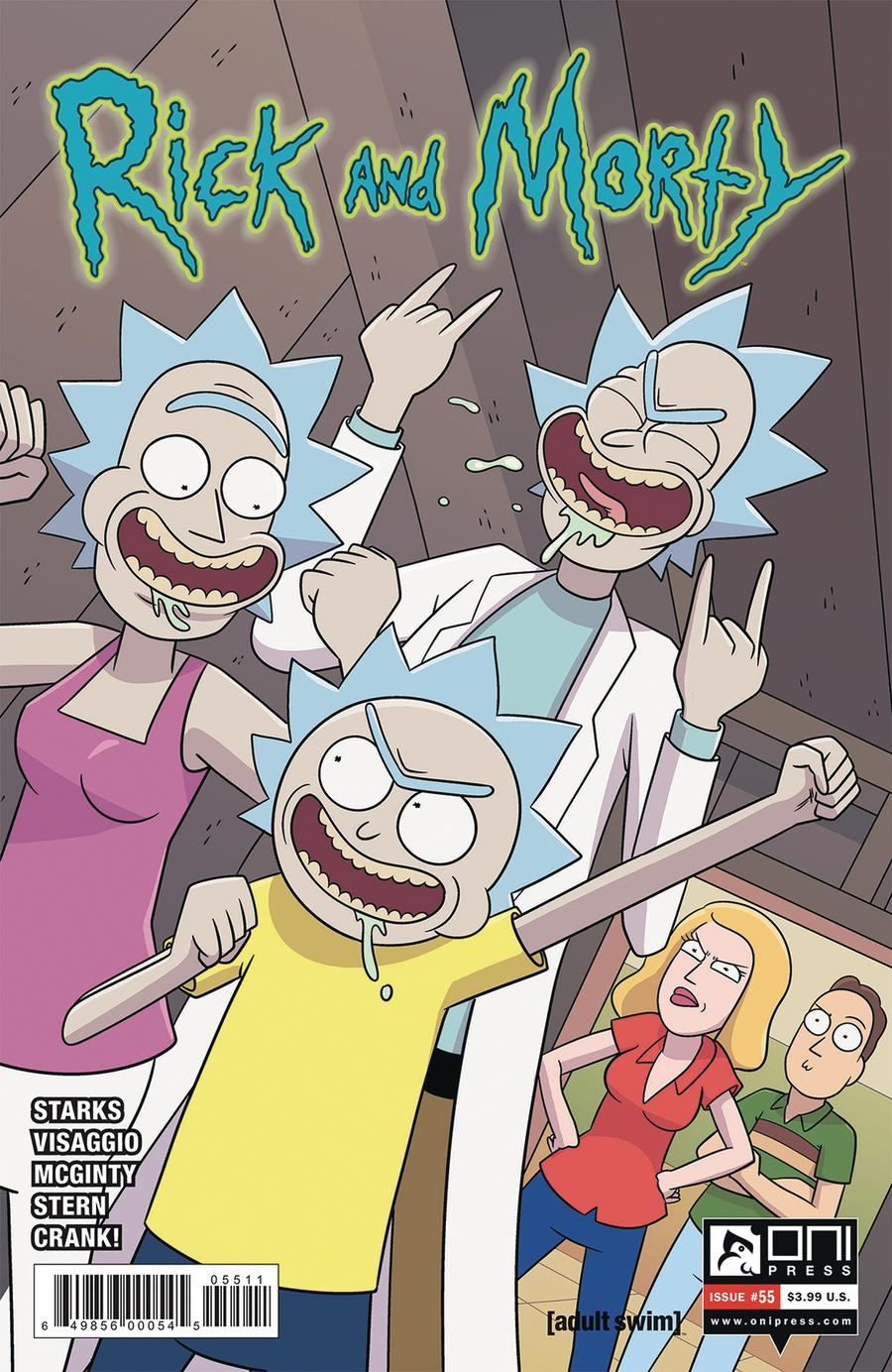 Rick And Morty #55 Cover A Regular Marc Ellerby Cover