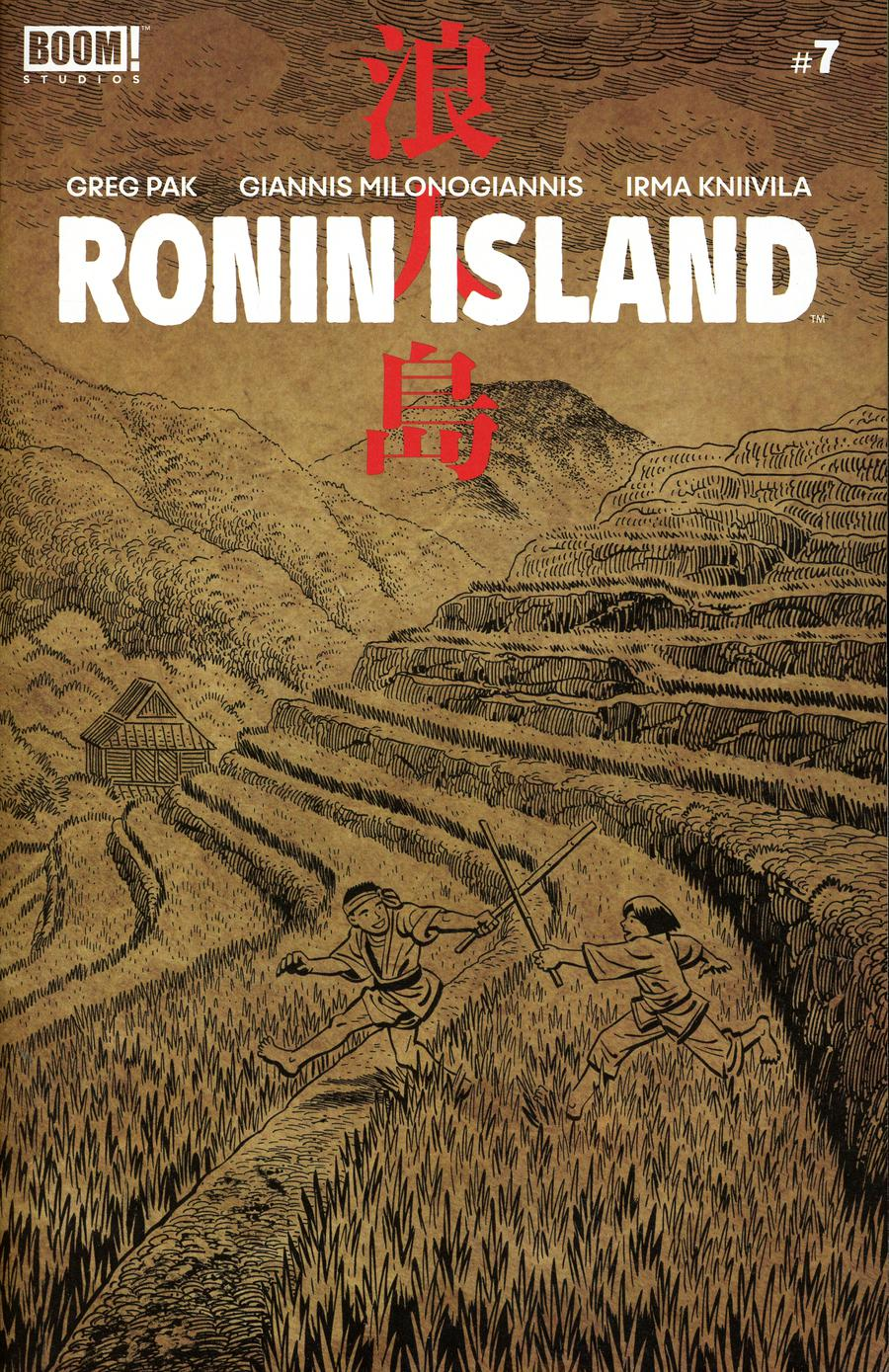 Ronin Island #7 Cover B Variant Ethan Young Preorder Cover