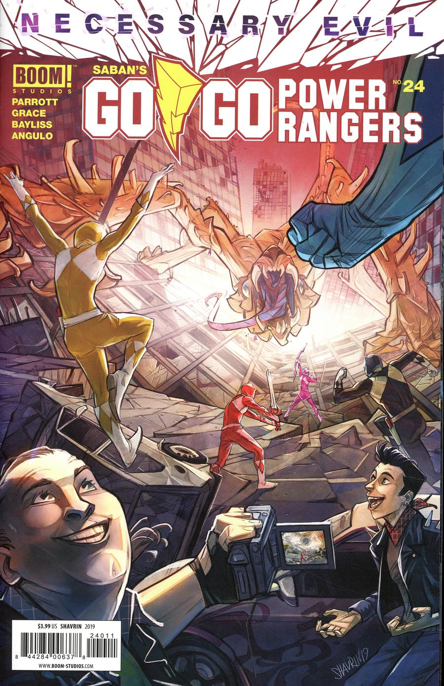 Sabans Go Go Power Rangers #24 Cover A Regular Ivan Shavrin Cover