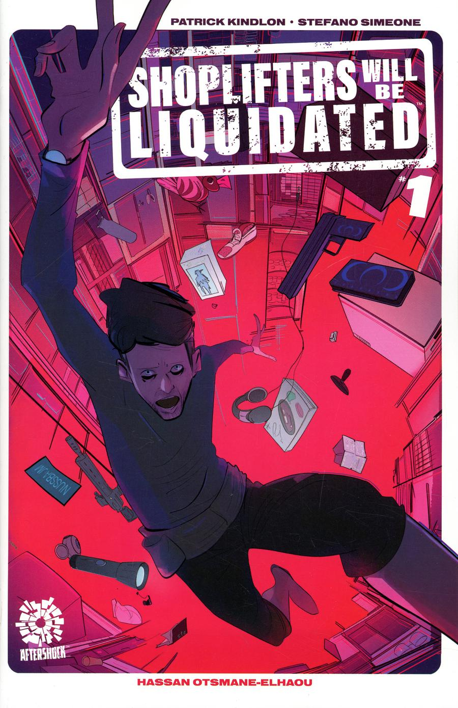 Shoplifters Will Be Liquidated #1 Cover A Regular Stefano Simeone Cover