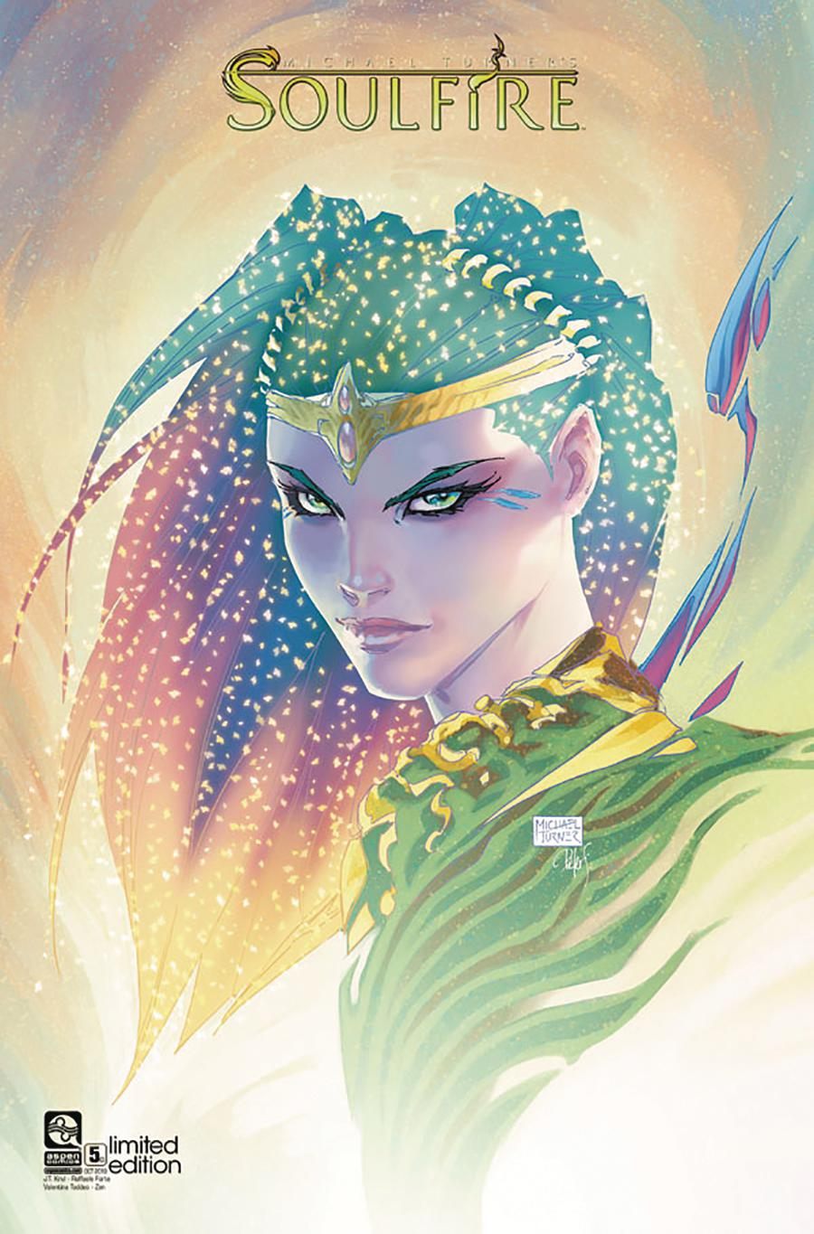 Soulfire Vol 6 #5 Cover C Variant Michael Turner Cover