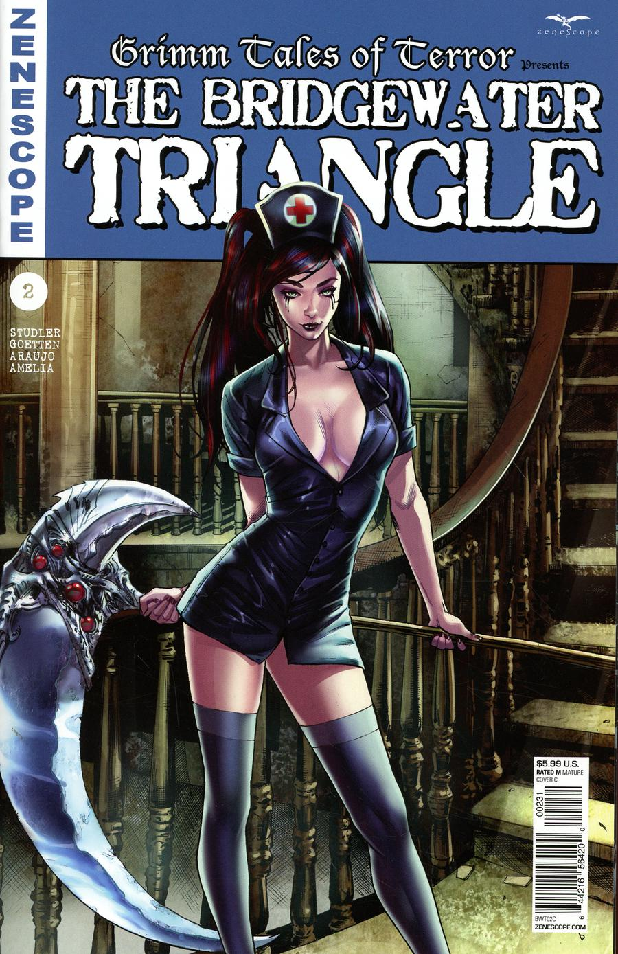 Grimm Tales Of Terror Presents Bridgewater Triangle #2 Cover C Michael Sta Maria