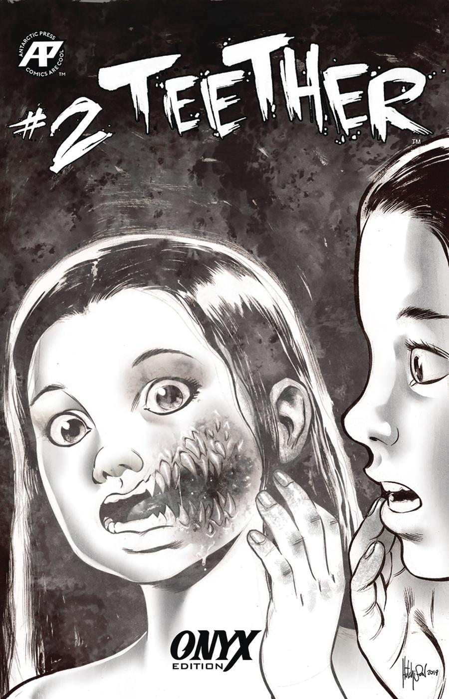 Teether #2 Cover B Variant David Hutchison Cheeky Onyx Cover
