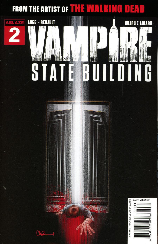 Vampire State Building #2 Cover A Regular Charlie Adlard Cover