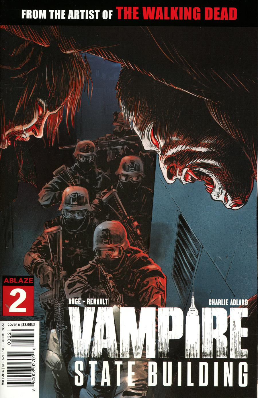 Vampire State Building #2 Cover B Variant Stefano Gaudiano Cover
