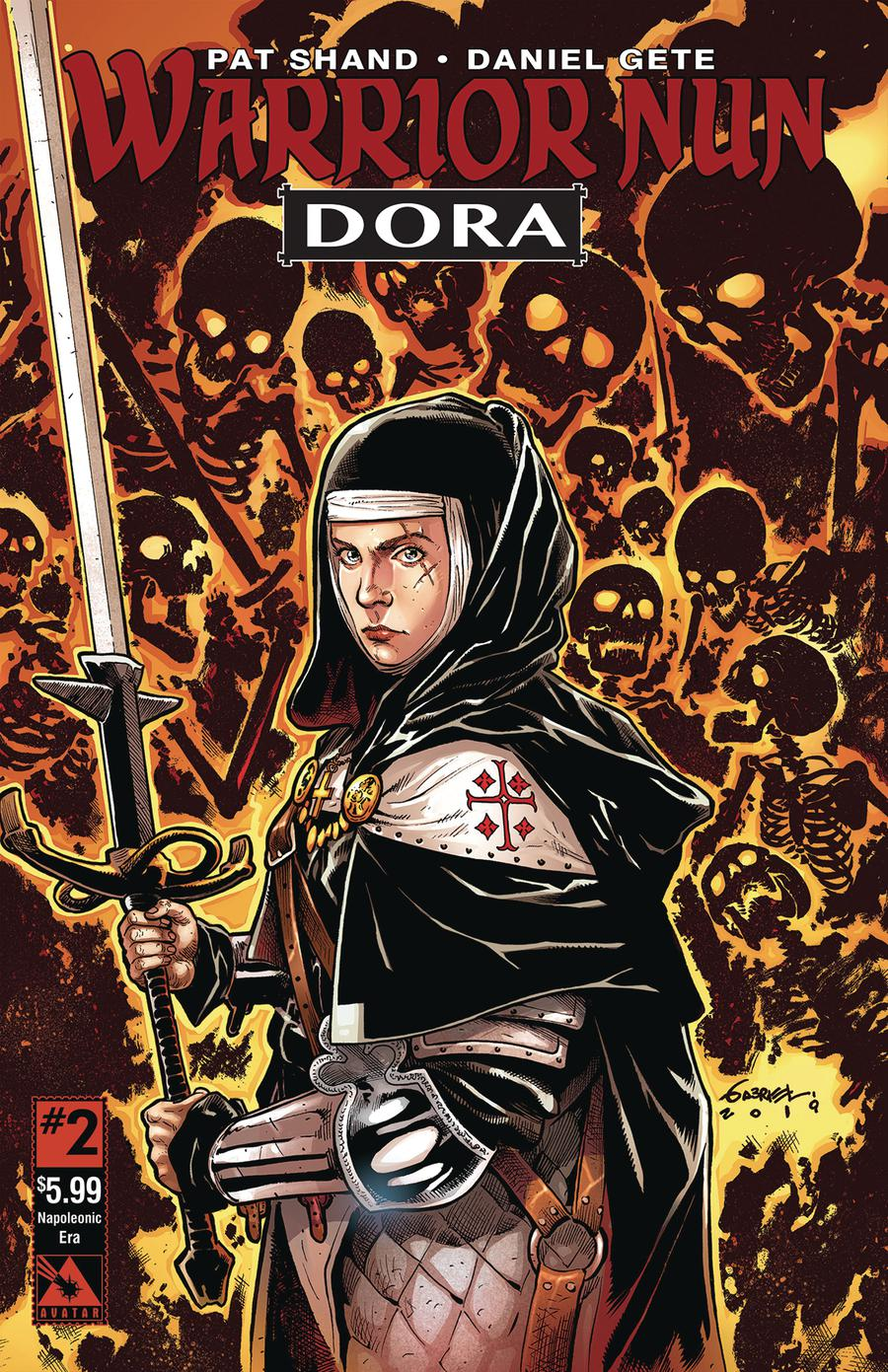 Warrior Nun Dora #2 Cover H Napoleonic Era Cover