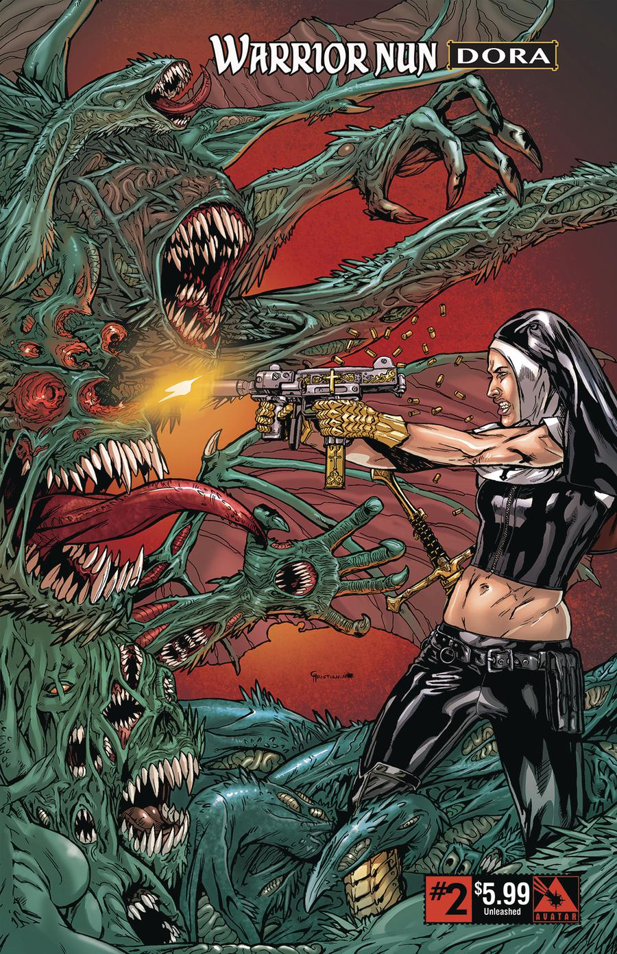 Warrior Nun Dora #2 Cover D Unleashed Cover