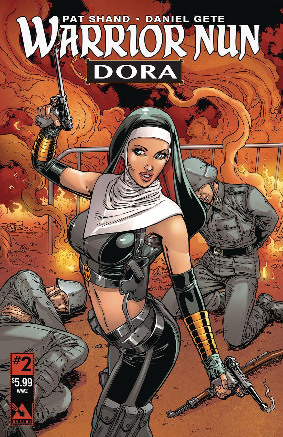 Warrior Nun Dora #2 Cover C World War II Cover