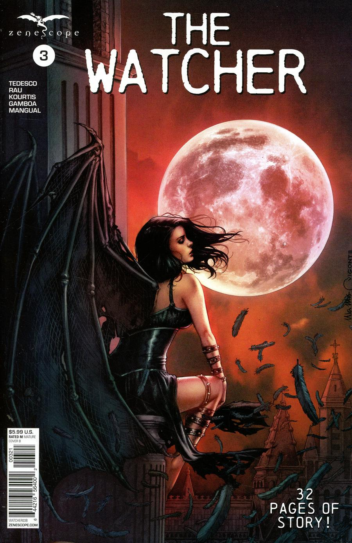 Watcher #3 Cover B Geebo Vigonte