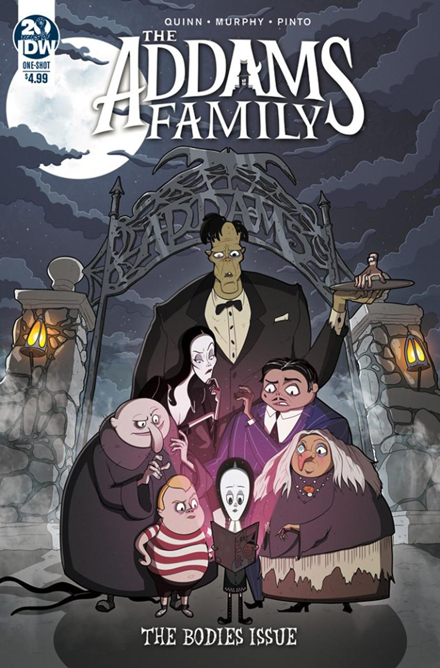 Addams Family The Bodies Issue Cover A Regular Philip Murphy Cover