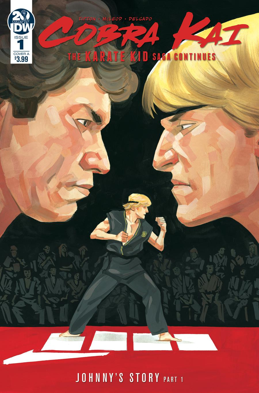 Cobra Kai Karate Kid Saga Continues #1 Cover A Regular Kagan McLeod Cover