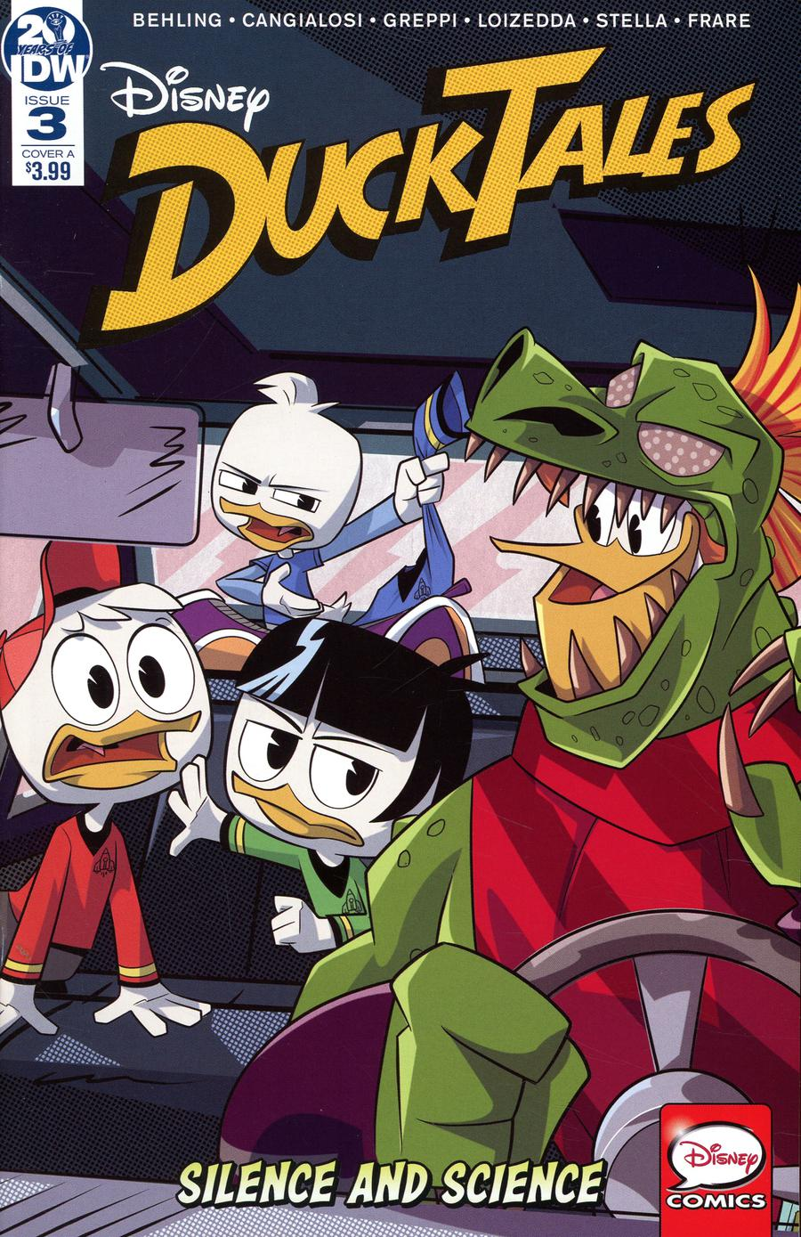 Ducktales Silence And Science #3 Cover A Regular Cover