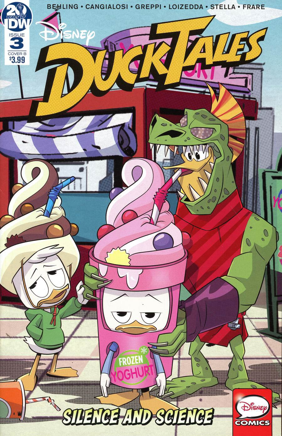 Ducktales Silence And Science #3 Cover B Variant Cover