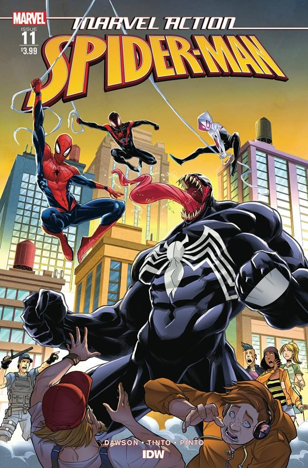 Marvel Action Spider-Man #11 Cover A Regular Davide Tinto Cover