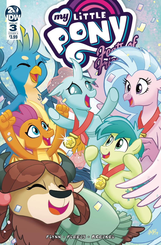 My Little Pony Feats Of Friendship #3 Cover A Regular Tony Fleecs Cover