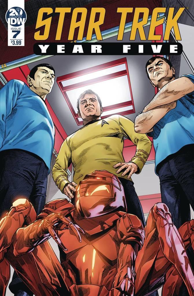 Star Trek Year Five #7 Cover A Regular Stephen Thompson Cover