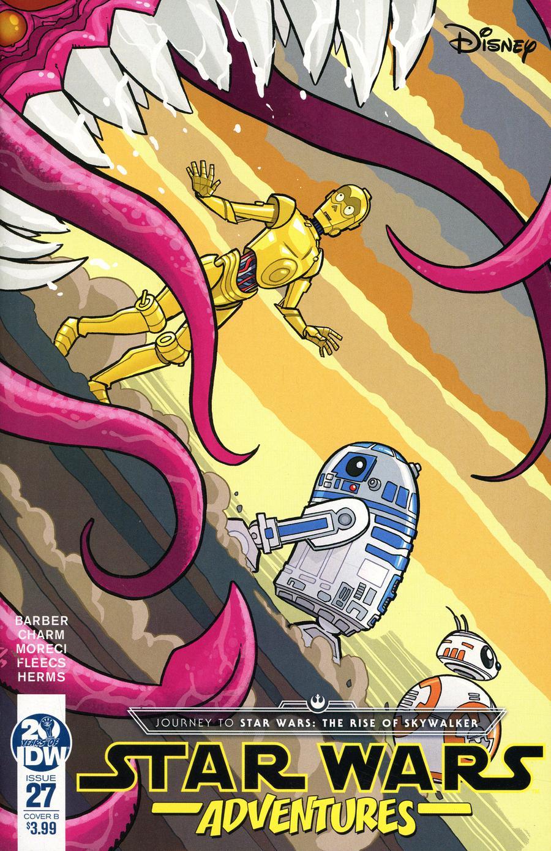 Star Wars Adventures #27 Cover B Variant Tony Fleecs Cover