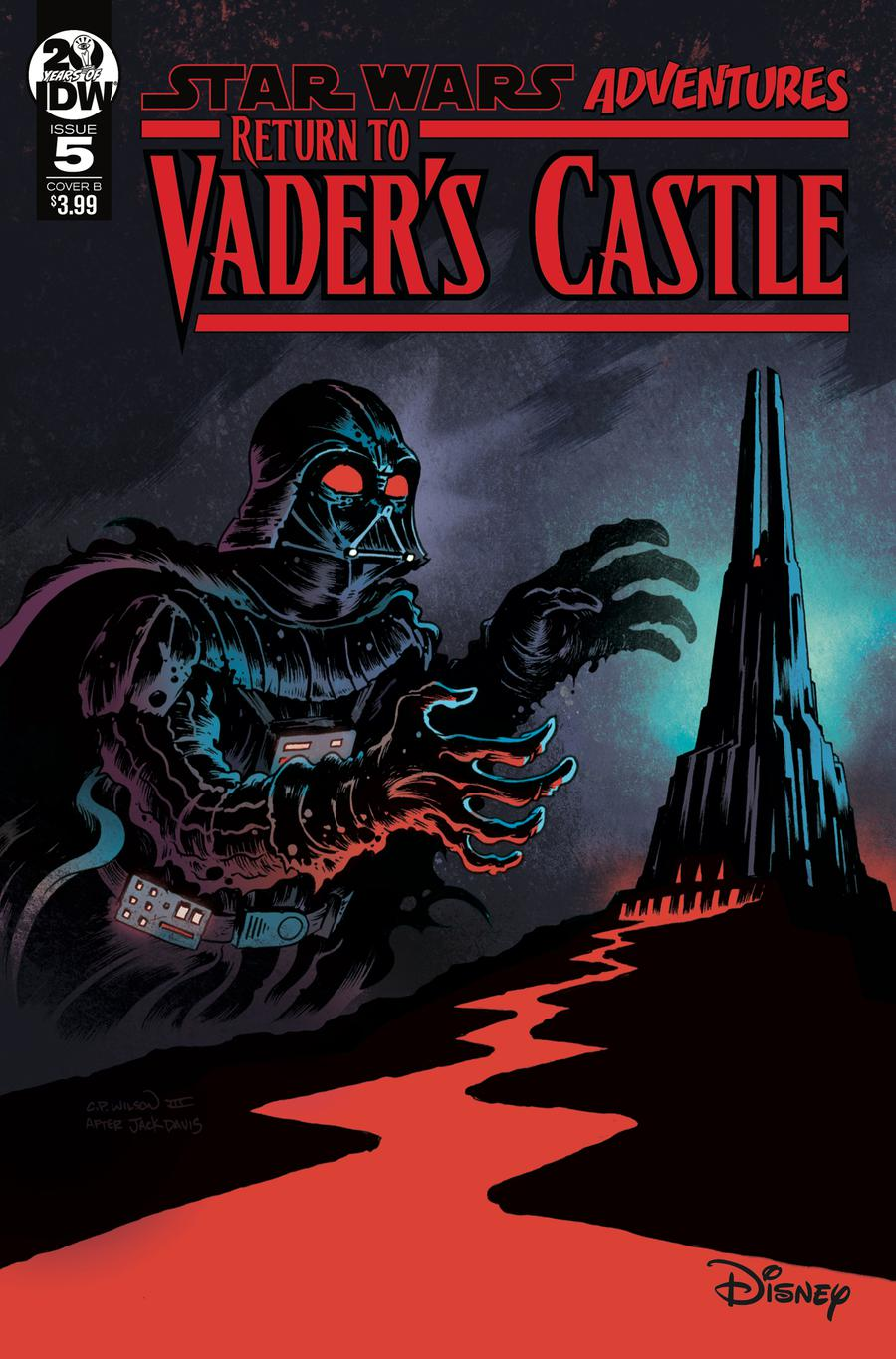 Star Wars Adventures Return To Vaders Castle #5 Cover B Variant Charles Paul Wilson III Cover