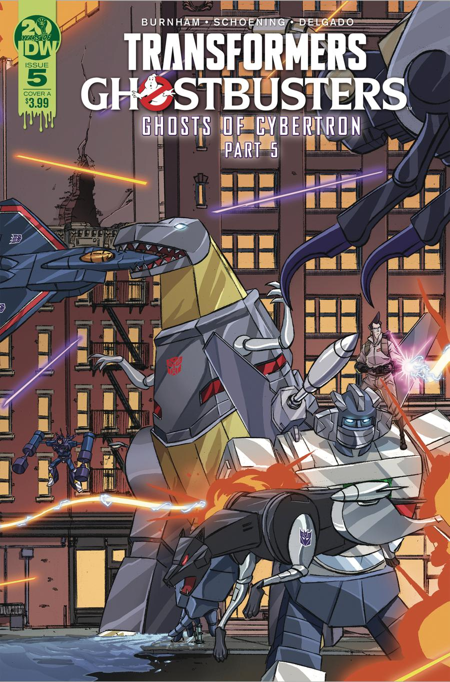 Transformers Ghostbusters #5 Cover A Regular Dan Schoening Cover