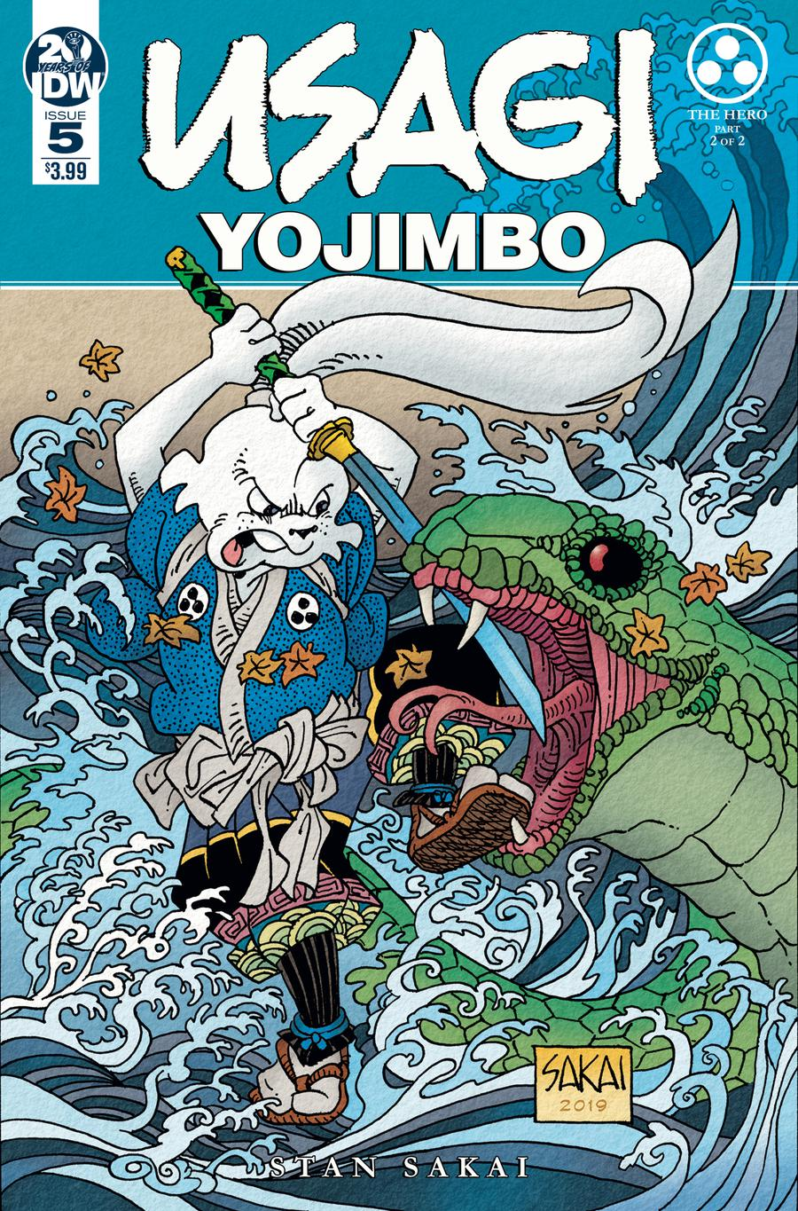 Usagi Yojimbo Vol 4 #5