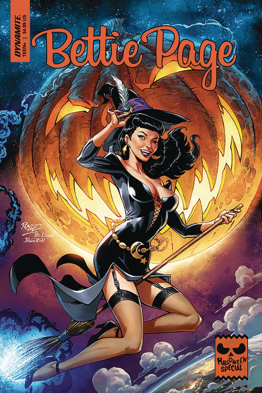 Bettie Page Halloween Special 2019 One Shot Cover A Regular John Royle Cover