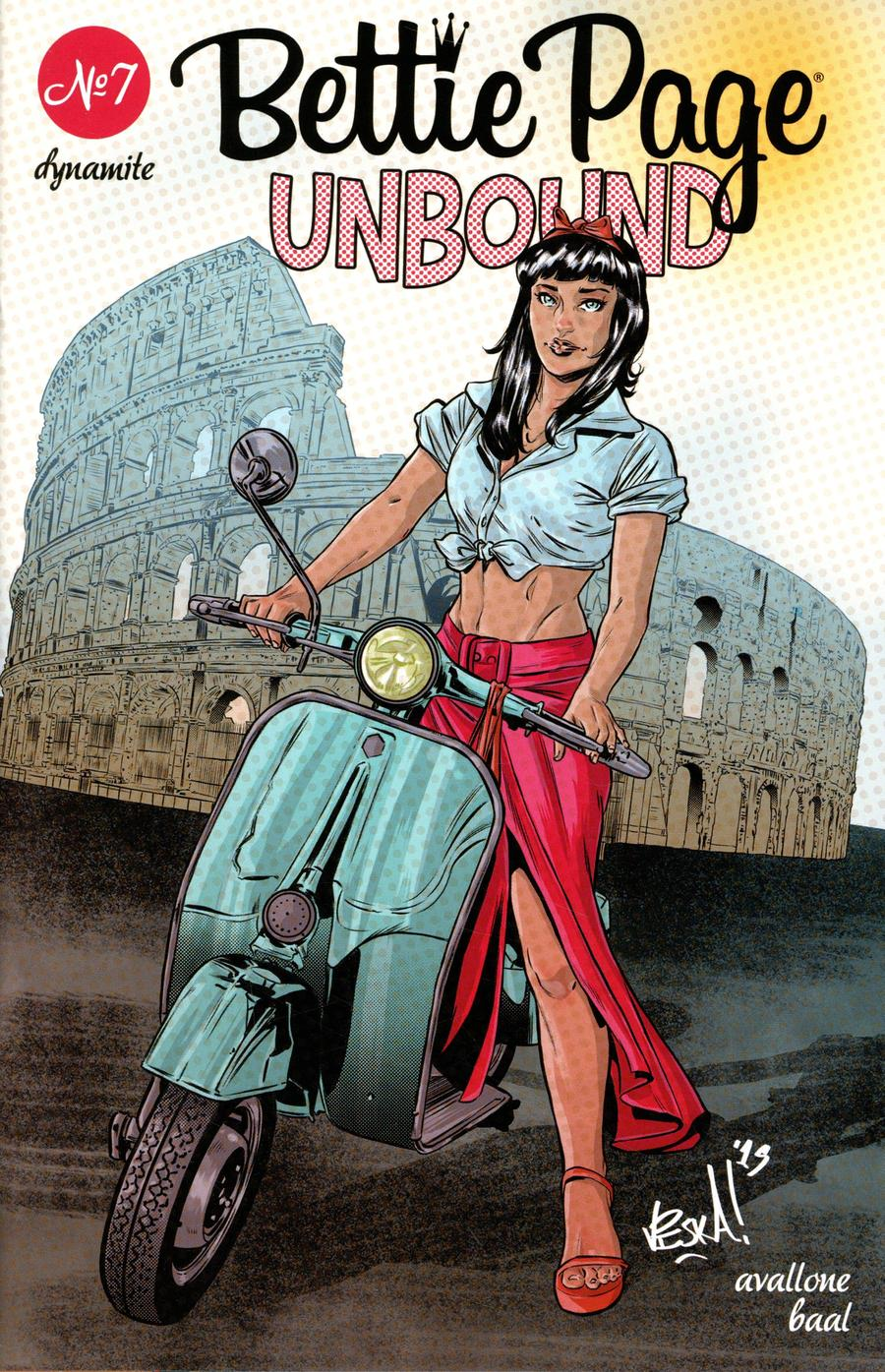 Bettie Page Unbound #7 Cover D Variant Vincenzo Federici Cover