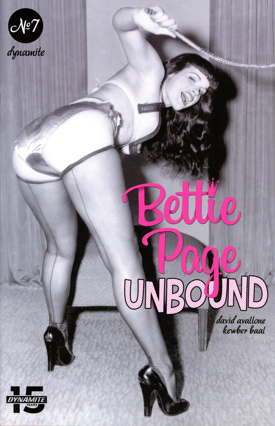 Bettie Page Unbound #7 Cover E Variant Photo Cover