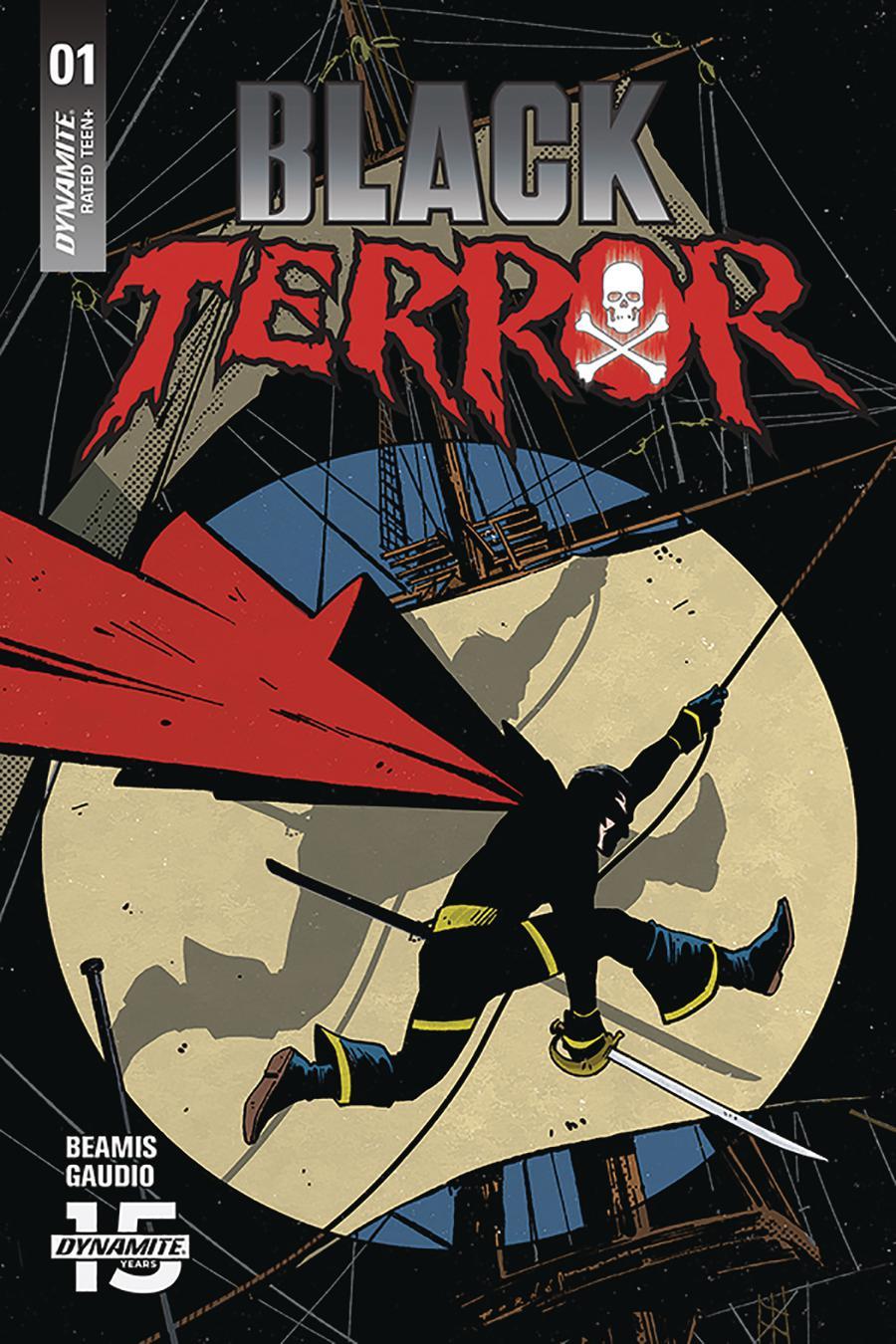 Black Terror Vol 4 #1 Cover B Variant Jorge Fornes Cover
