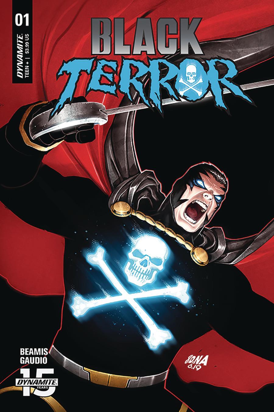 Black Terror Vol 4 #1 Cover C Variant David Nakayama Cover